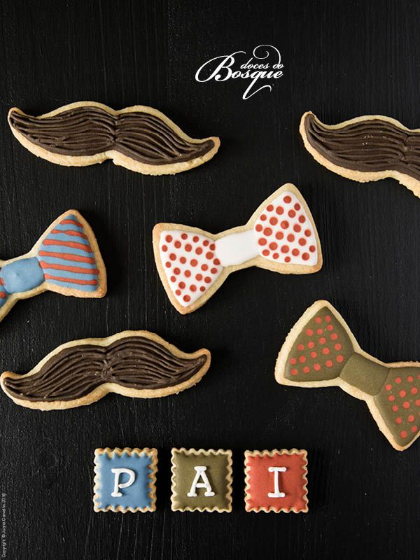 Bolachas Dia do Pai • Father´s Day Cookies | Doces do Bosque
