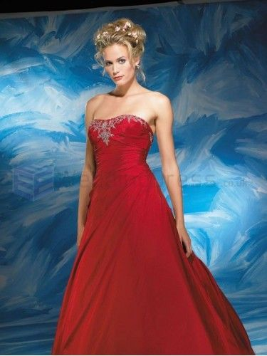 Ball Gown Taffeta Ruched Bodice Softly Curved Neckline Chapel Length Wedding Dresses