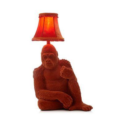 Abigail Ahern/EDITION Orange gorilla lamp   Debenhams