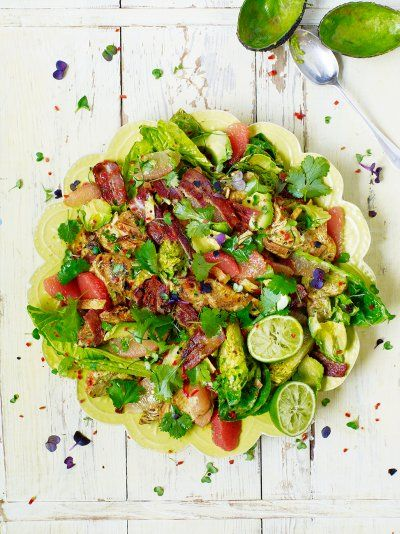 LA Style Turkey Salad | Turkey Recipes | Jamie Oliver