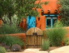 Southwestern Gate, Orange Garden Wall Gates and Fencing Landscaping Network Calimesa, CA