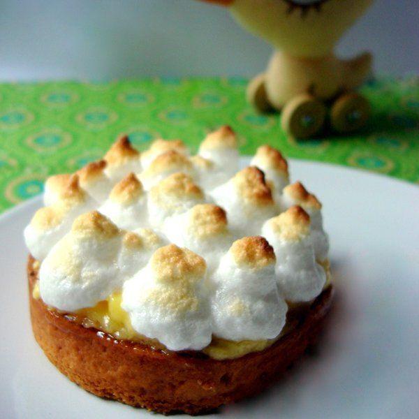 Recette de gâteau d'anniversaire pour bébé de 1 an: Tartelette au citron meringuée