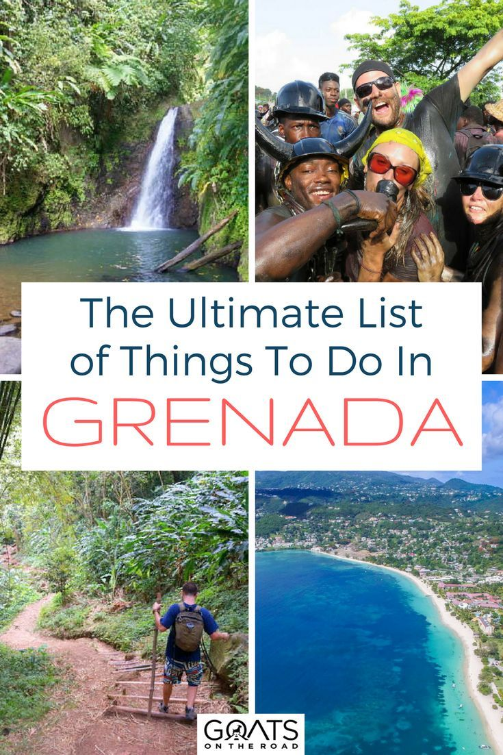 Best Caribbean Islands | What To Do In Grenada | Grand Anse | St George | Belmont Estate | Island of Spice | #caribbeantravel #visitgrenada #honeymoondestinations