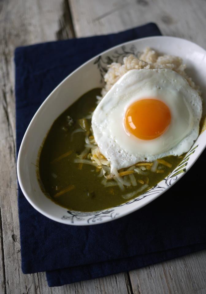 ほうれん草と豆乳の玄米カレー