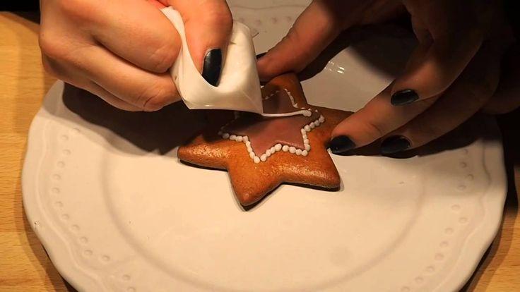 Jak na perníčky   Decorating Christmas Gingerbreads   Meg v kuchyni