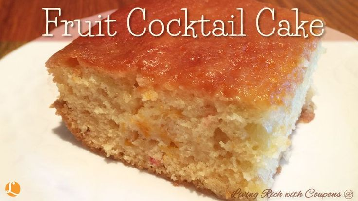 Fruit Cocktail Cake