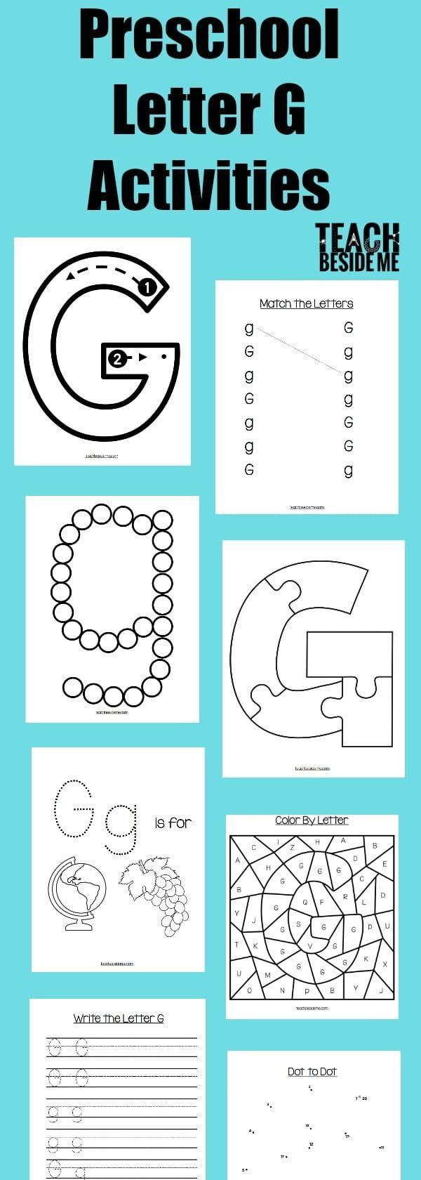 Best 25 Letter G Activities Ideas On Pinterest Letter G