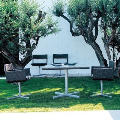 XXL Wicker Modern Outdoor Dining Set 5-piece for $7,380 #OutdoorPatioDiningSets #OutdoorFurniture #CozyDays