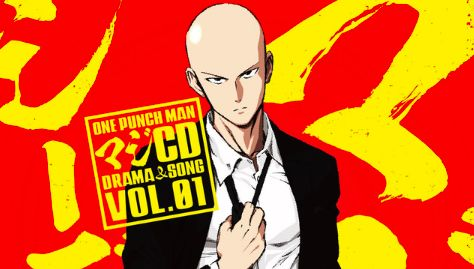 One-Punch Man Anime Gets Four Audio Drama CD And Soundtracks CD.