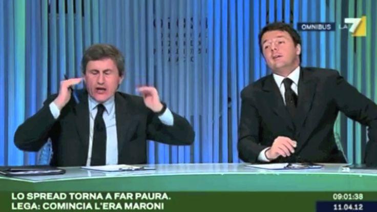 Il Disprezzo di Renzi
