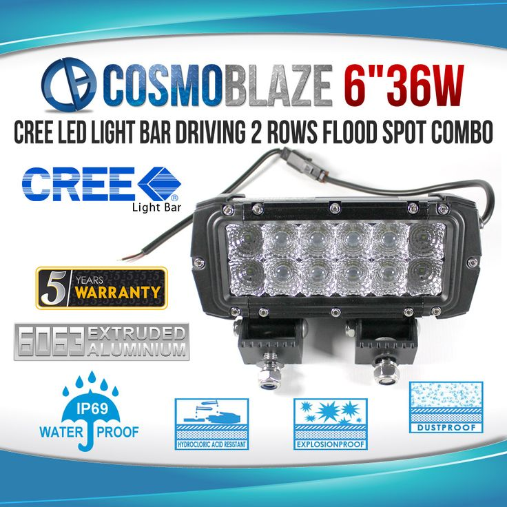 Find Quality 36W Double Row Series CREE LED Light Bars at Cosmoblaze