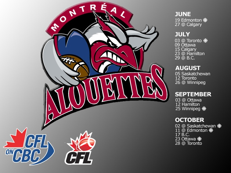 Montreal Alouettes 1