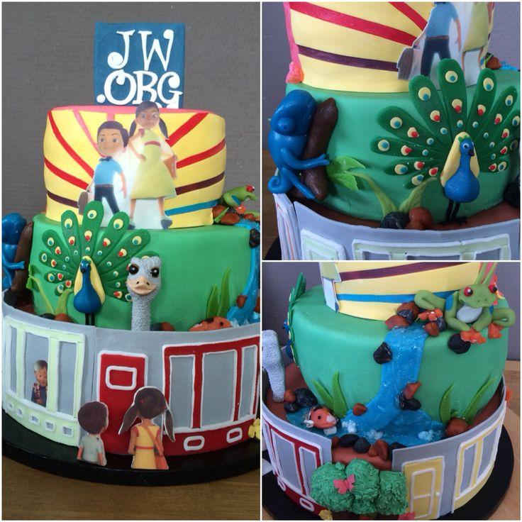 Caleb and Sophia cake. A little piece of paradise
