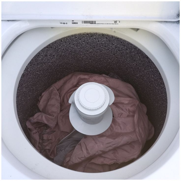 black dye washing machine