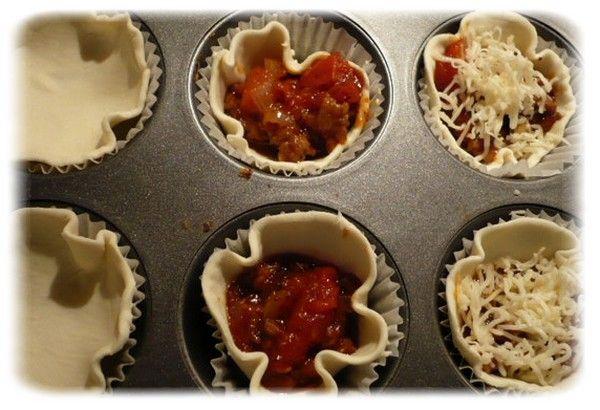 Muffiny s mletým masem