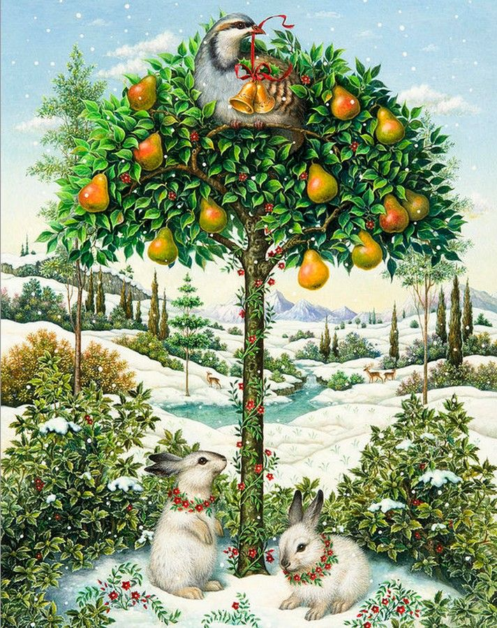 Lynn Bywaters  —  The Partridge in a Pear Tree: