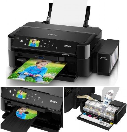 Imprimanta foto A4 Epson L810