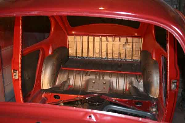 Interior Soundproofing a beetle - Carpet underlay ? - VW Forum - VZi, Europe's largest VW, community and sales