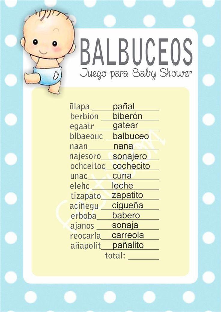 Balbuseo (palabras corectas)