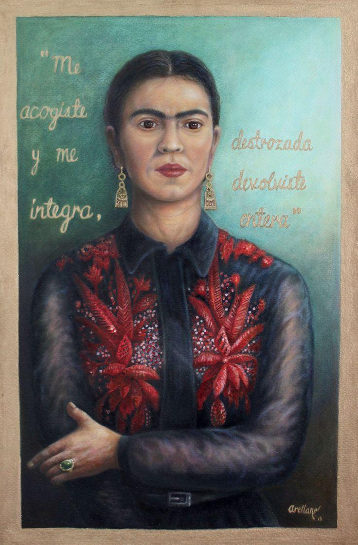 ¨ Frida Integra ¨/óleo