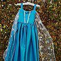 La Reine des Neiges: tuto de la robe d'Elsa!!!!
