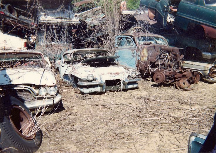 Best I See Dead Cars Images On Pinterest Abandoned Cars