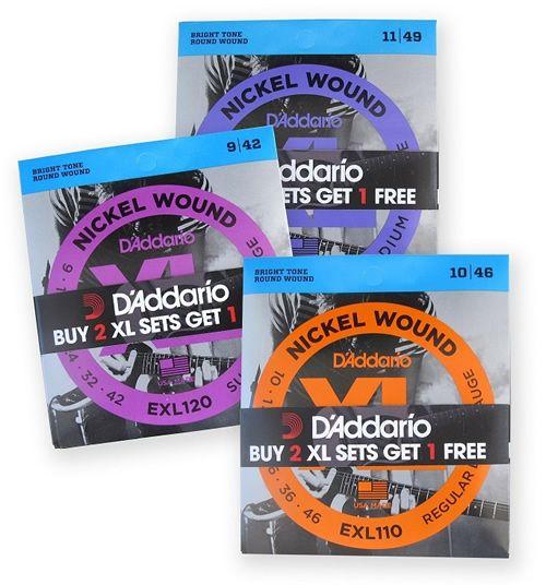 Productos a la venta de D'Addario en http://cuerdadeguitarra.com/d-addario_1