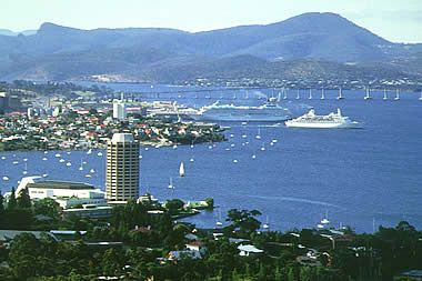 Hobart, Tasmania. Australia. A very beautiful city.