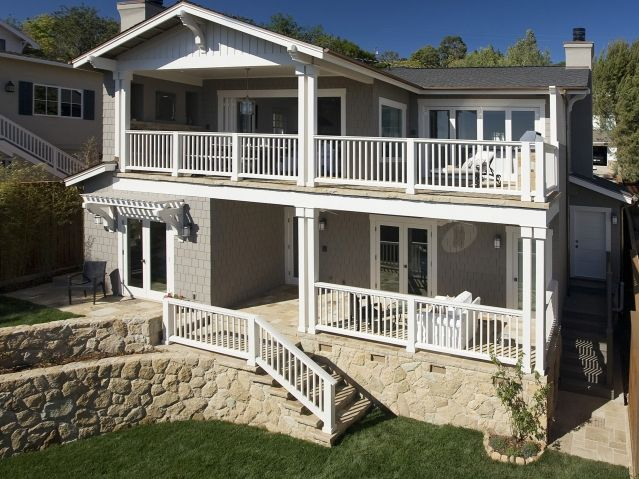 Balcony front of the house pinterest - Houses with covered balconies ...