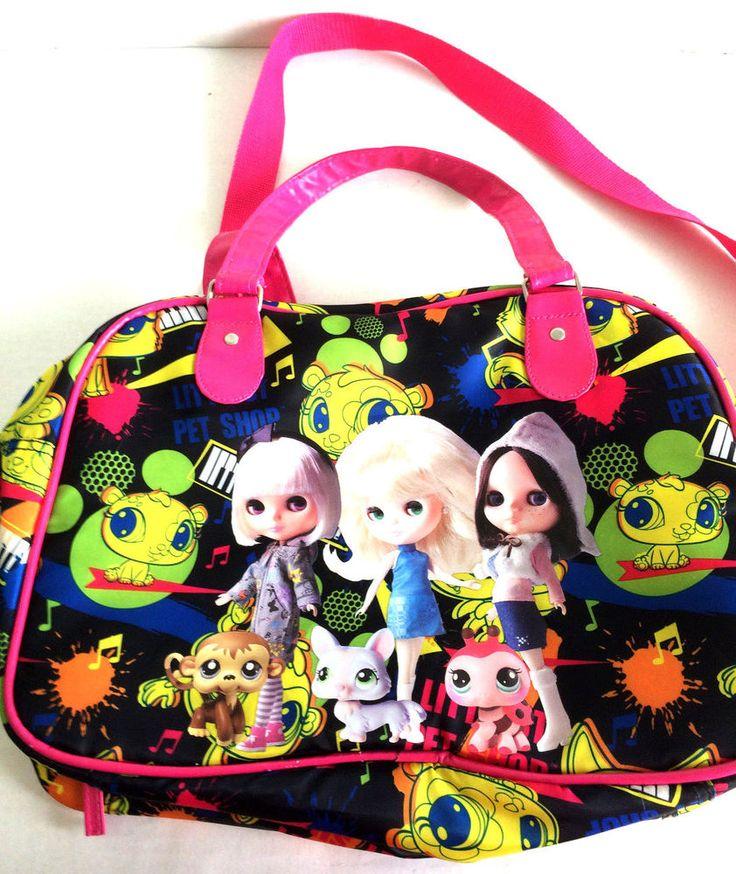 Littlest Pet Shop Blythe Boarding Bag Carry On Overnight