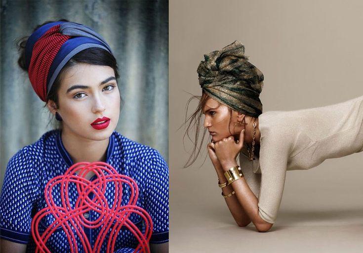 Turbans, bandanas, headscarves... how to wear them!