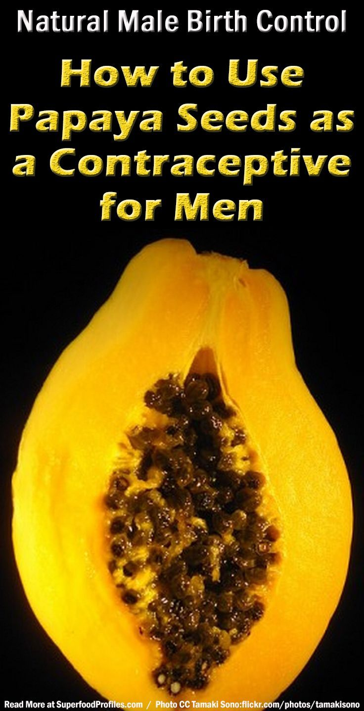 How to use papaya seeds as a male contraceptive supporting scientific research potential precautions