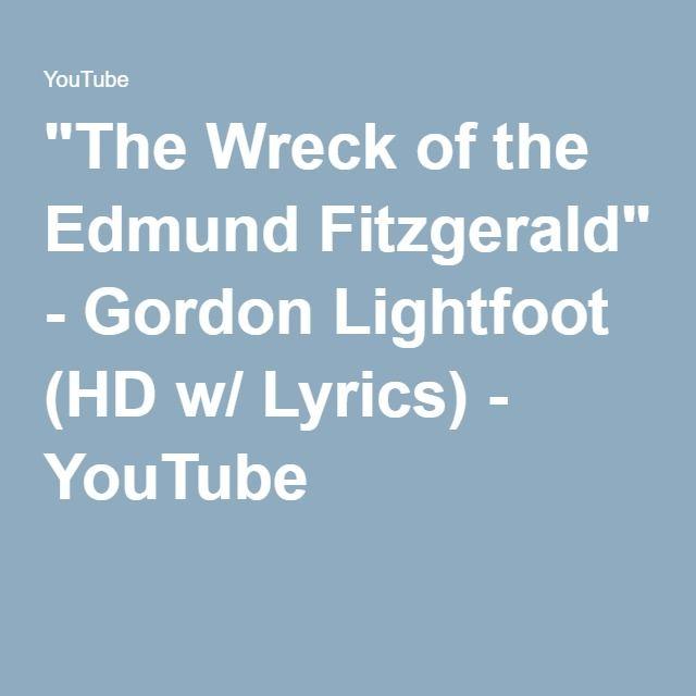 Edmund fitzgerald lyrics change
