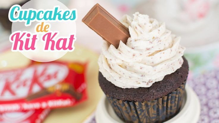 Cupcakes de Kit Kat | Quiero Cupcakes!