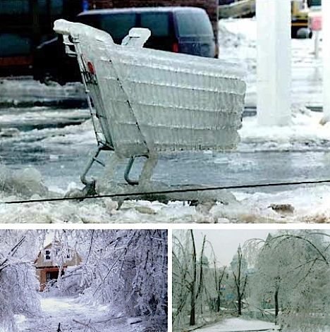 6 Chilling Ice Storms, Tsunamis and Floods | Freezing rain ...  6 Chilling Ice ...