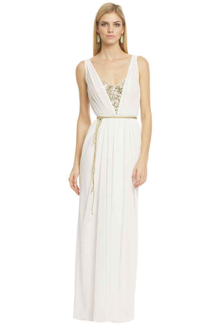 44 best ageless empire lines and grecian goddesses grecian white grecian wedding dress with waist tie and deep v neckline with modesty insert gots ombrellifo Image collections