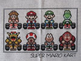 LOVE, LOVE, LOVE this Video Game Cross Stitch Gallery by DawnMLC!!