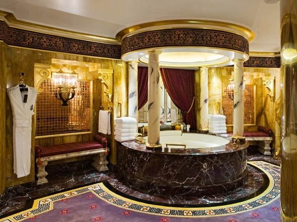 Fancy Bathroom: Really Fancy Bathroom, Shower.!