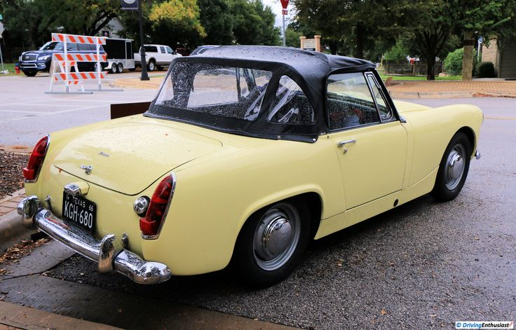 1966 Austin-Healey Sprite MKIII, as shown at the 2016 Texas All British Car Days event in Round Rock, TX, USA.
