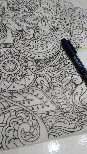 Lines tattoo sketche
