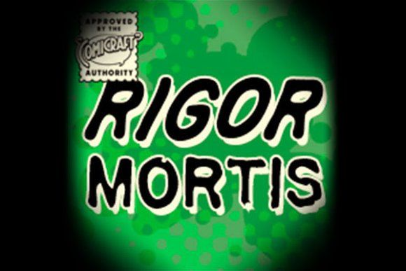 Rigor Mortis by Comicraft Fonts on @creativemarket