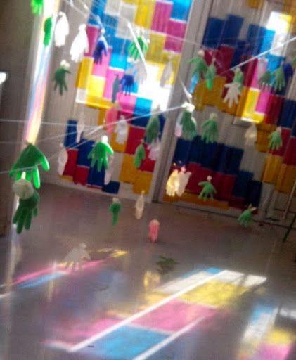 Resultado de imagen para instalaciones artisticas infantiles