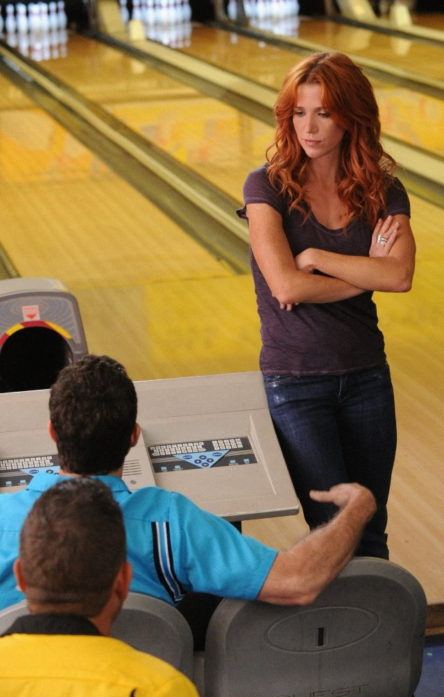 Still of Poppy Montgomery and Dylan Walsh in Unforgettable