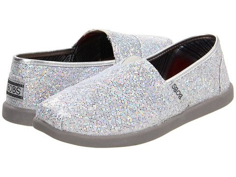 SKECHERS Bobs World - Earth Papa: I LOVE how sparkly these are! I am looking for a new pair of happy shoes. :)