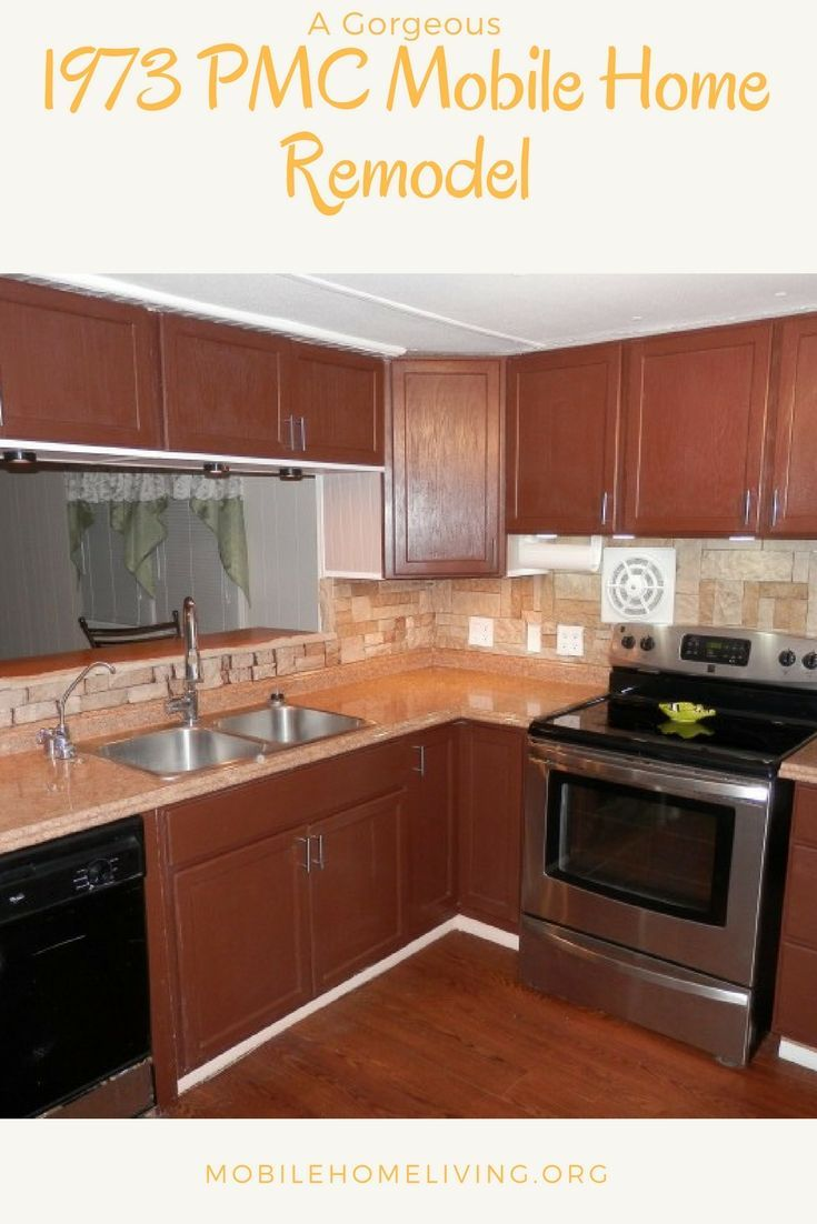 1973 Mobile Home Remodel Done With $2000 Budget   Remodeling mobile homes, Mobile home living ...