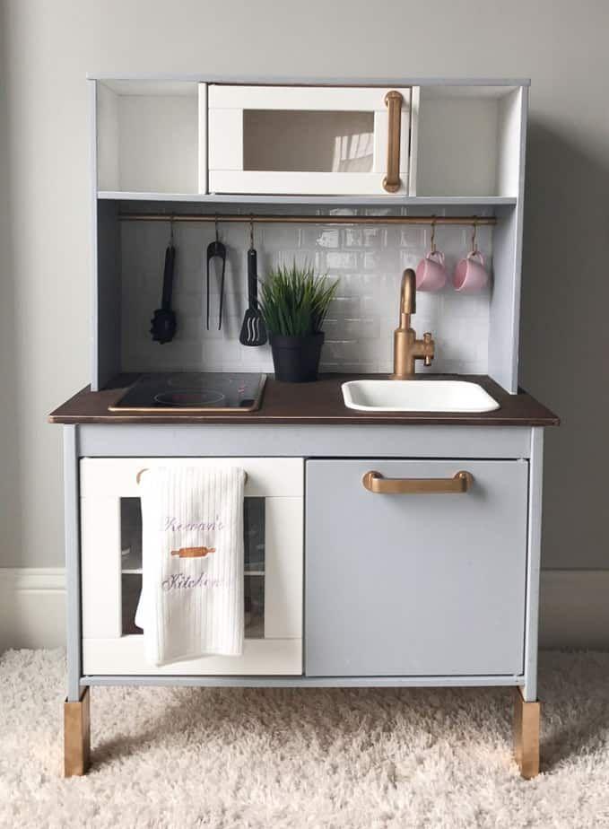 19 Fun Ikea Play Kitchen Hacks And Makeovers Nursery Pinterest
