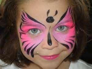 Maquillaje de Carnaval niños ; mariposa