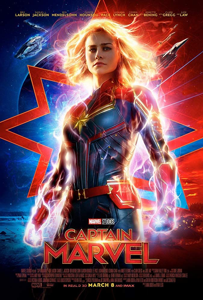 Movie Review Captain Marvel With Images Marvel Movie Posters