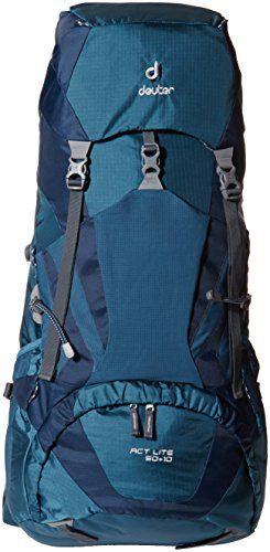 Deuter Unisex Act Lite Backpack, Arctic-Navy, 76 x 32 x 26 cm/50+10 Liter