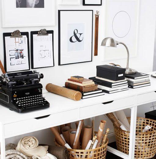 Thuiswerken kan heerlijk zijn! Vier tips om van je huis een inspirerende werkplek te maken.  http://www.ikea.com/nl/nl/studio/woonmagazine/wooninspiratie-en-trends/2015-02-werkkamer-inrichting.html